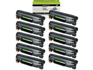 GREENCYCLE 10 Pack CRG128 Toner Cartridge Compatible for Canon 128 ImageClass D530 MF4450 MF4770n MF4570dn