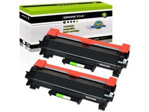 GREENCYCLE Toner Cartridge WITH CHIP Compatible for Brother TN760 TN730 use in DCP-L2550DW HL-L2350DW Printer (Black, 2 Pack)