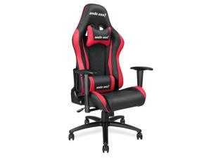 Anda Seat Axe Series High Back Gaming Chair Ergonomic Computer Chair eSports Desk with Pillows(Black/Red) AD5-01-BR-PV