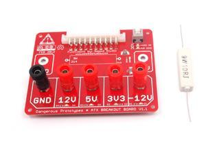 Seeedstudio 1pc ATX breakout board bench power supply