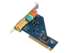 PROMOTION! Hot 4 Channel 8738 Chip 3D Audio Stereo PCI Sound Card Win7 64 Bit