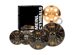 Meinl Classics Custom Dark Set Cymbal Pack with Free Trash Crash and Ching Ring 14, 16, 18 and 20 in.