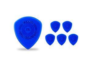 Dunlop Flow Standard Grip Guitar Picks .73 mm 6 Pack