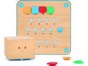 Primo Toys - Cubetto Playset - Wooden Robot Teaching Kids Code & Computer Programming