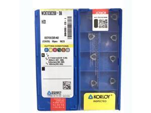 Carus Tool KORLOY RPMW1003MOS KF5800 Carbide Inserts CNC Tool 10Pcs//Box