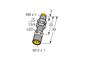 TURCK Ni3-EG08K-AP6X-H1341 4669660 Inductive sensor PNP