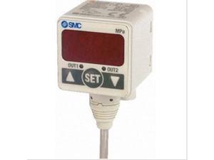 SMC ZSE40-01-22L-M Digital Pressure Gauge New