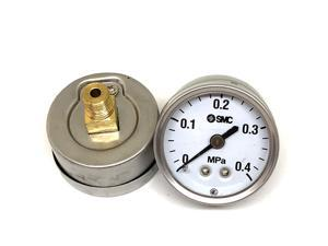 SMC G36-10-01 Pressure Gauge for General Purpose With Limit Indicator New