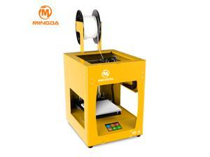 FILABOTICS®  MINGDA MD-16 Aluminium Metal Frame Yellow 3D High Quality New Version 2017 World Fastest 3D Printer, Build Volume 160*160*160mm 3.5 inch LCD Display with HD Print Resolution Supports all