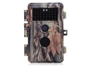 """[2020 Upgraded] BlazeVideo 16MP HD 1080P Video Trail Hunting Game Camera Wildlife Scouting Camera Motion Sensor No Glow 38 IR LEDs Night Vision Up to 65ft, Video Record, Snapshot, 2.4"""" LCD Screen"""