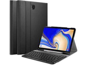 Fintie Keyboard Case for Samsung Galaxy Tab S4 10.5 2018 Model Black