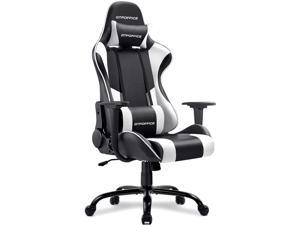 GTRACING Gaming Chair Massage Office Computer GTPOFFICE Series Racing Chair for Adult Reclining Adjustable Swivel Leather Chair High Back Desk Chair Headrest and Massage Lumbar Support Cushion