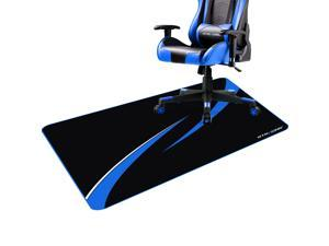 GTRACING Gaming Chair Mat for Hardwood Floor 43 x 35inch Office Computer Gaming Desk Chair Mat for Hard Floor GT603