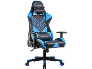 GTRACING Executive High-Back Gaming Chair Computer Office Chair PU Leather Swivel Chair Racing Chair