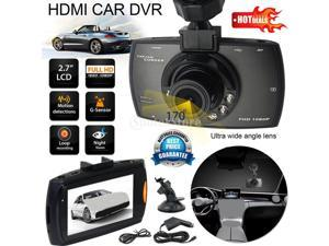 """Vehicle Car Dash Camera Video DVR Cam Recorder 1080P 150 degree 2.7"""" LCD with Night Vision LED"""