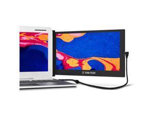 "SideTrak Slide Portable Monitor for Laptop 12.5"" FHD 1080P IPS Attachable Second Laptop Screen | Efficient USB Power | Compatible with Mac, PC, Chrome 13""-17"" Laptops | Patent Pending"