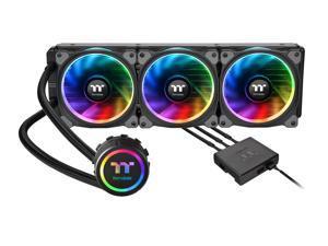Thermaltake Floe Triple Riing RGB 360 TT Premium Edition PWM TR4 LGA2066 Ready AIO Liquid Cooling System CPU Cooler CL-W158-PL12SW-A