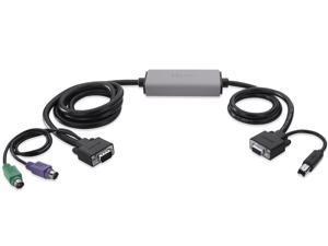 VGA/PS/2 to VGA/USB Smart Cable, 6 FT
