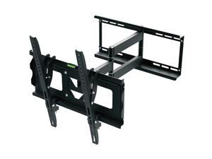 "Ematic FULL MOTION Television Wall Mount 70"" Inch LCD TV Screen Displays, Slim Design, Two Piece, Easy Install,"