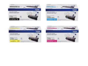 Brother TN431 BK/C/M/Y 4-Color Toner Cartridge Set
