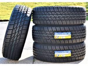 Kit of 4 (FOUR) 235/70R15 114/110Q E (10 Ply) - Accelera Omikron A/T All-Terrain Tires
