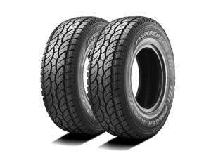 Kit of 2 (TWO) 285/70R17 E (10 Ply) 121/118S - Thunderer Ranger A/T All-Terrain Tires