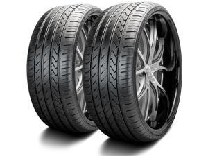 2 Lexani LX-TWENTY High Performance All Season Tires - 245/30R22 245/30ZR22 95W XL