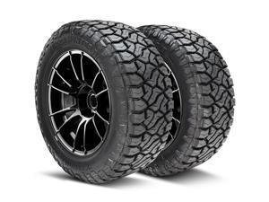 Kit of 2 (TWO) 35X12.50R24 119Q F (12 Ply) - Venom Power Terra Hunter R/T Rugged Terrain All Season Tires