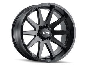"""1 Wheel 20"""" 143 20x10 8x170 Matte Black -19ET 125.2CB 10 Spoke (143-2170MB)"""