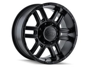 "4 Wheels 17"" 179 17x8 6x139.7 Matte Black 10ET 106CB (179-7883MB)"