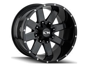 "1 Wheel 18"" 141 18x9 5x127/5x139.7 Gloss Black 18ET 87.1CB (141-8952M18)"