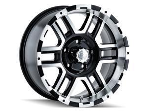 "2 Wheels 17"" 179 17x8 5x114.3 Black Machined 10ET 83.82CB (179-7865B)"