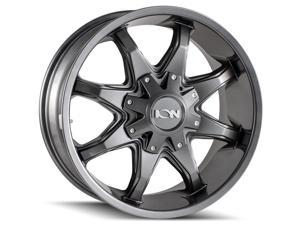 """1 Wheel 18"""" 181 18x9 8x180 Graphite 18ET 124.1CB 8 Spoke (181-8978G18)"""