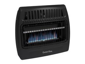 Comfort Glow KWG363 30000 BTU Blue Flame Dual Fuel Vent Free Utility Wall Heater