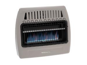 Kozy World KWN375 30000 BTU Blue Flame Natural Gas Vent Free Wall Heater