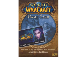 World of Warcraft 60 Day Game Time Pre-paid Card PC - Digital Code