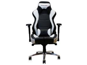 PulseLabz Guardian Series Gaming Chair - White/Black