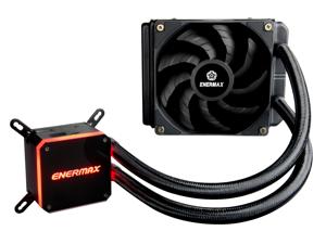Enermax LIQMAX III 120, All-in-one CPU Liquid Cooler for AM4 / LGA1200, 120mm Radiator, Dual-Chamber Water Block, Dual-Convex Blade Fan,