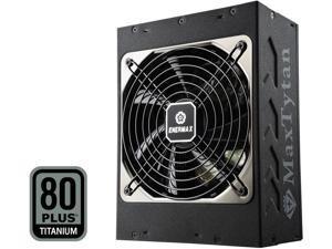 Enermax MaxTytan 750W 80 PLUS TITANIUM Certified Full Modular Active PFC Power Supply - EMT750EWT