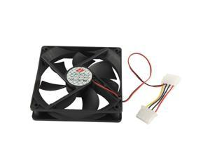 120mm 4-pin Cooling Fan with Dual Connectors (12025 4-pin)