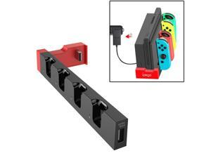 iPega PG-9186 Game Controller Charger Charging Dock Stand Station Holder with Indicator for Nintendo Switch Joy-Con