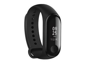 Xiaomi Band 3 Fitness Tracker Band3 Smart Bracelet, 5ATM Swim Reject, Support Heart Rate Monitor / Call Pulse Heart Rate Step Time(Black)