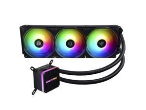 ENERMAX Addressable RGB LED AIO Water Cooling CPU Cooler LIQMAX III ARGB/ELC-LMT-ARGB, ELC-LMT360-ARGB