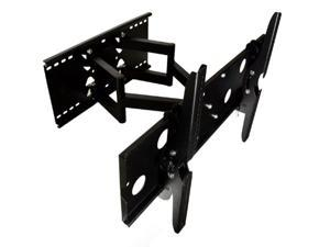 """Articulating, Tilting, And Swiveling Tv Wall Mount For NEW SAMSUNG 55"""" Class (54.6"""" Diag.) LED 6000 Series Smart TV, Black"""