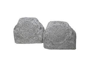 TIC TFS TFS5WG Terra-Forms Outdoor White Granite Stone Speakers Pair