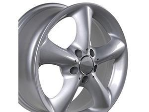 OE Wheels 17 Inch Fit Mercedes Benz E S SLK CLK CLS ET37 Silver 17x7.5 Rims Hollander 65288 SET