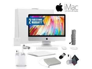 Apple iMac MNE02LL/A  21.5 Inch, 3.4GHz Intel Core i5, 8GB RAM, 1TB Fusion Drive, Silver  Professional Bundle With Magic TrackPad 2, Warranty, Apple Superdrive, Apple AirPods and More MNE02LL/A.
