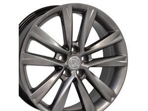 OE Wheels LLC 19 Inch Fits Lexus ES GS HS IS LS RX SC Toyota Avalon Camry Matrix Rav4 Sienna RX 350 F Sport Style LX24 Hyper Silver 19x7.5 Rim Hollander 74279