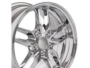 OE Wheels 18 Inch Fits Chevy Camaro Corvette Pontiac Firebird Deep Dish Stingray Style CV18A Chrome 18x10.5 Rim Hollander 5633