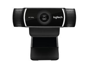 Logitech C922 HD 1080P Auto Focus Webcam with 2 Omnidirectional Microphones